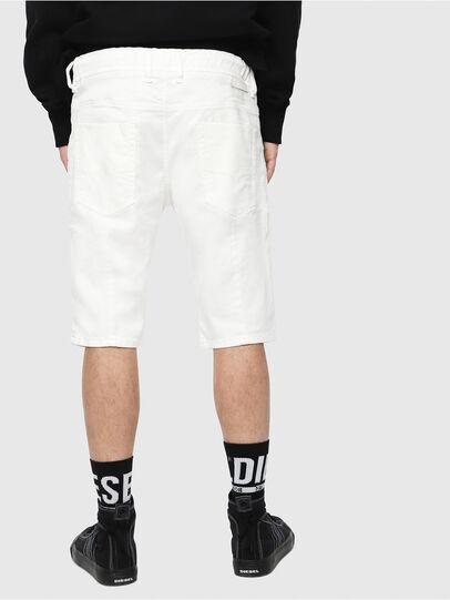 Diesel - D-KROOSHORT JOGGJEANS, Blanco - Shorts - Image 2
