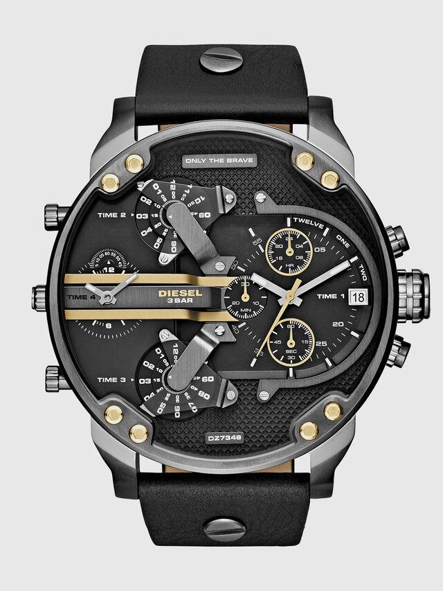 Diesel - DZ7348 MR DADDY 2.0, Negro - Relojes - Image 1