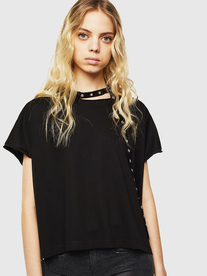 Diesel - T-JALA, Negro - Camisetas - Image 1