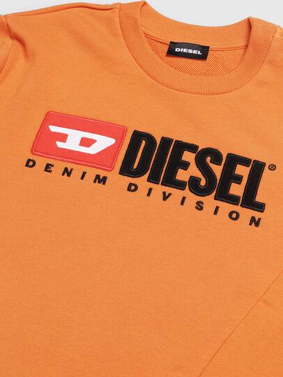 Diesel - SCREWDIVISION OVER, Naranja - Sudaderas - Image 3