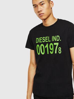 T-DIEGO-001978, Negro - Camisetas