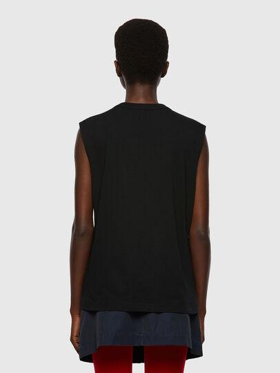 Diesel - T-PUNKYERN, Negro - Camisetas - Image 2