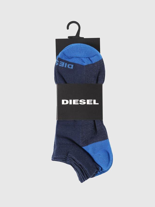 Diesel - SKM-GOST-THREEPACK, Índigo - Calcetines cortos - Image 2