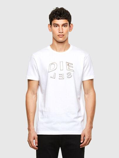 Diesel - T-DIEGOS-A1, Blanco - Camisetas - Image 1