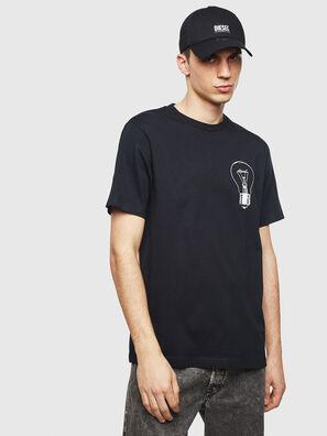T-JUST-T22, Negro - Camisetas