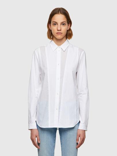 Diesel - C-VOILE, Blanco - Camisas - Image 1