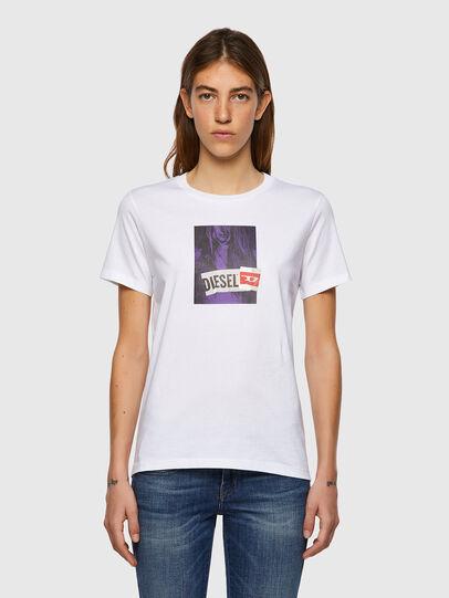 Diesel - T-SILY-B3, Blanco - Camisetas - Image 1