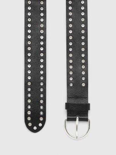 Diesel - B-GUA', Negro - Cinturones - Image 3