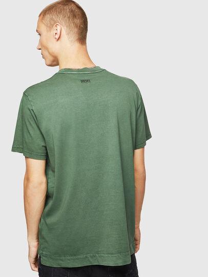 Diesel - T-THURE, Verde - Camisetas - Image 2