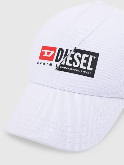 Diesel - CAP-CUTY, Blanco - Gorras - Image 3