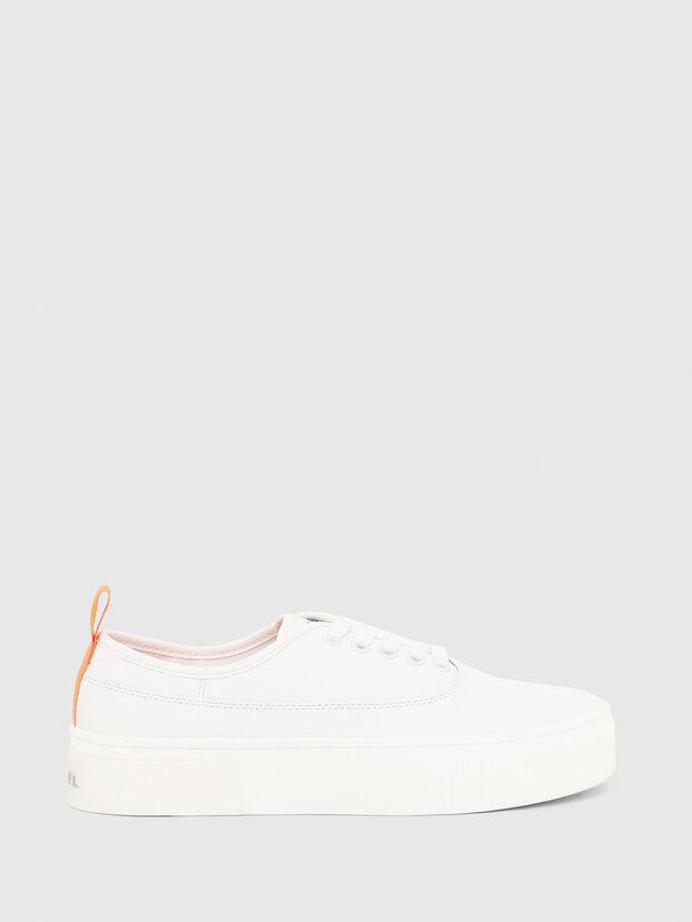 S-VANEELA LOW, Blanco/Naranja - Sneakers