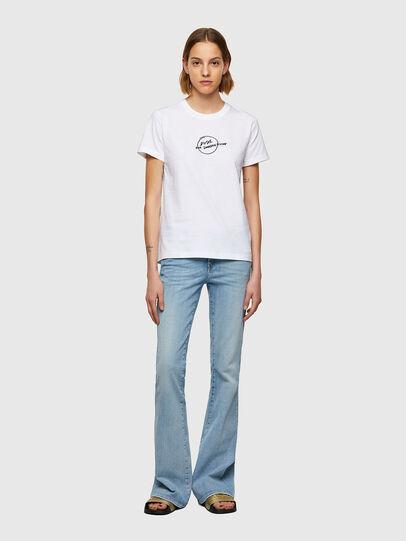 Diesel - T-SILY-B8, Blanco - Camisetas - Image 4