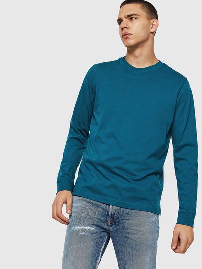 Diesel - T-LERMON, Azul Marino - Camisetas - Image 1