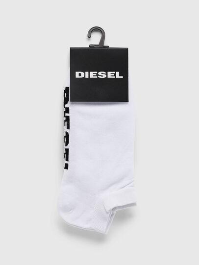 Diesel - SKM-GOST, Blanco - Calcetines cortos - Image 2