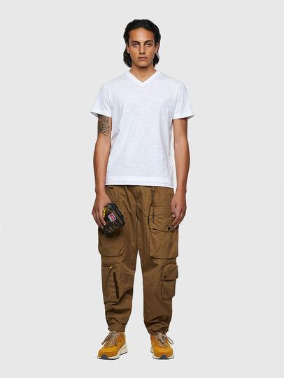 Diesel - T-NORRIE, Blanco - Camisetas - Image 4