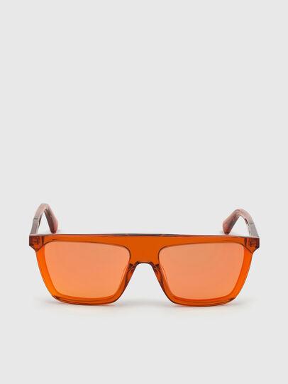 Diesel - DL0323, Naranja - Gafas de sol - Image 1