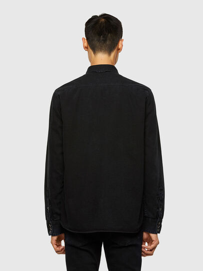 Diesel - D-WEAR-B1, Negro - Camisas de Denim - Image 2