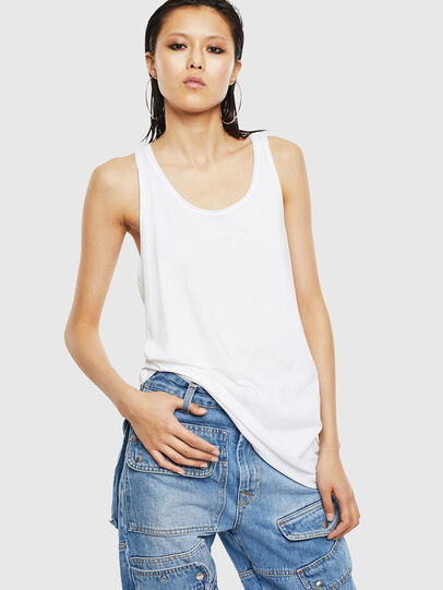 Diesel - T-KELLY-B, Blanco - Tops - Image 1