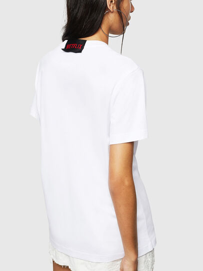 Diesel - LCP-T-DIEGO-BOGOTA, Blanco - Camisetas - Image 4
