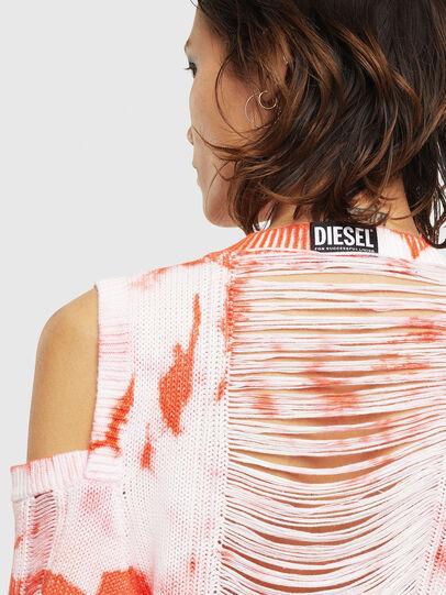 Diesel - M-BOBBY, Rosa/Blanco - Punto - Image 5