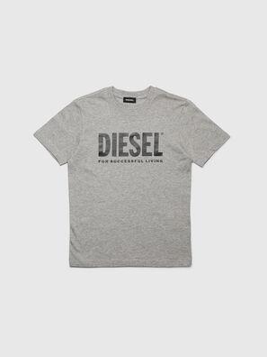 TJUSTLOGO, Gris - Camisetas y Tops