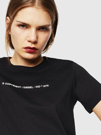 Diesel - T-SILY-COPY, Negro - Camisetas - Image 3