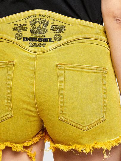 Diesel - DE-BATY-SP1, Amarillo - Shorts - Image 4