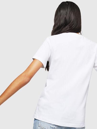 Diesel - T-SILY-WX, Blanco - Camisetas - Image 2