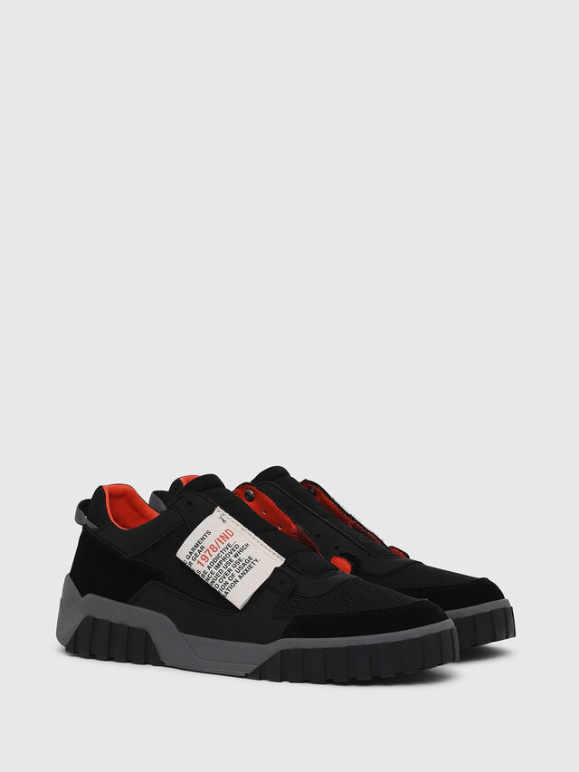 Diesel - S-LE RUA ON, Negro - Sneakers - Image 2