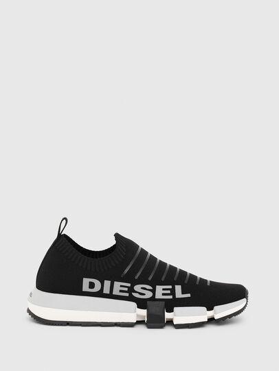 Diesel - H-PADOLA LOW SOCK, Negro - Sneakers - Image 1