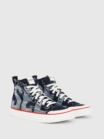 Diesel - S-ASTICO MC, Azul Oscuro - Sneakers - Image 2
