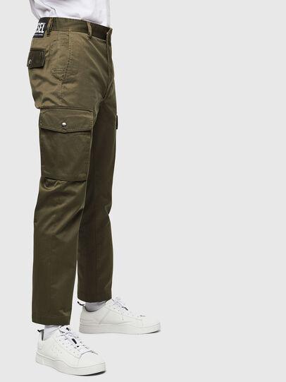 Diesel - P-JARED-CARGO, Verde - Pantalones - Image 3