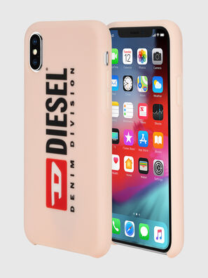 DIESEL PRINTED CO-MOLD CASE FOR IPHONE XS & IPHONE X, Polvos de Maquillaje - Fundas
