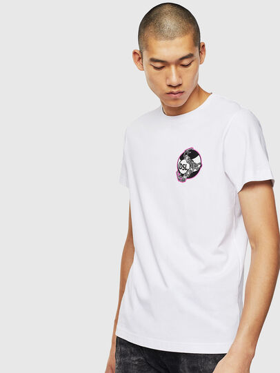 Diesel - T-DIEGO-J10, Blanco - Camisetas - Image 1