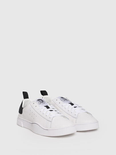 Diesel - S-CLEVER LOW W, Blanco/Negro - Sneakers - Image 2