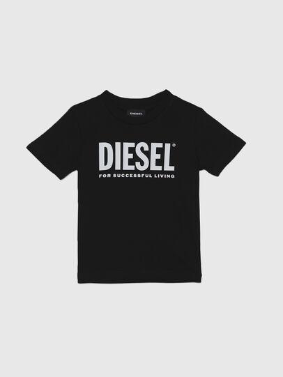 Diesel - TJUSTLOGOB-R, Negro - Camisetas y Tops - Image 1