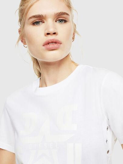 Diesel - T-SILY-WMA, Blanco - Camisetas - Image 3