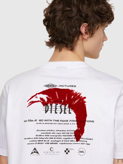 Diesel - T-JUST-E4, Blanco - Camisetas - Image 3
