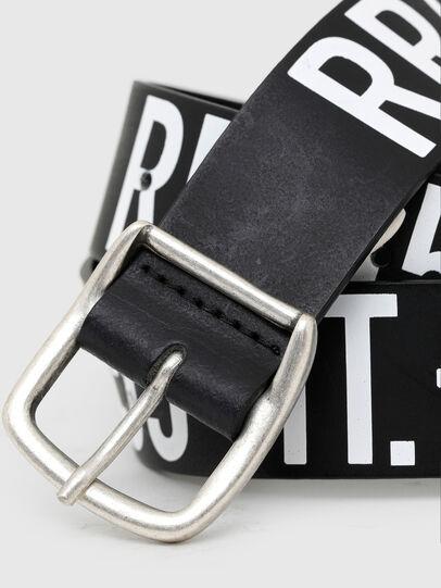 Diesel - BARBARANO, Negro/Blanco - Cinturones - Image 2