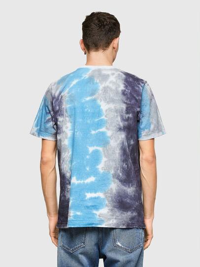 Diesel - T-JUST-E13, Gris/Azul marino - Camisetas - Image 2