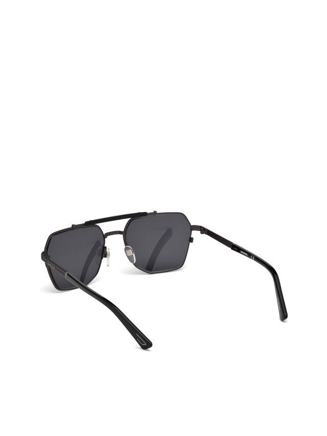 Diesel - DL0256, Negro - Gafas de sol - Image 4