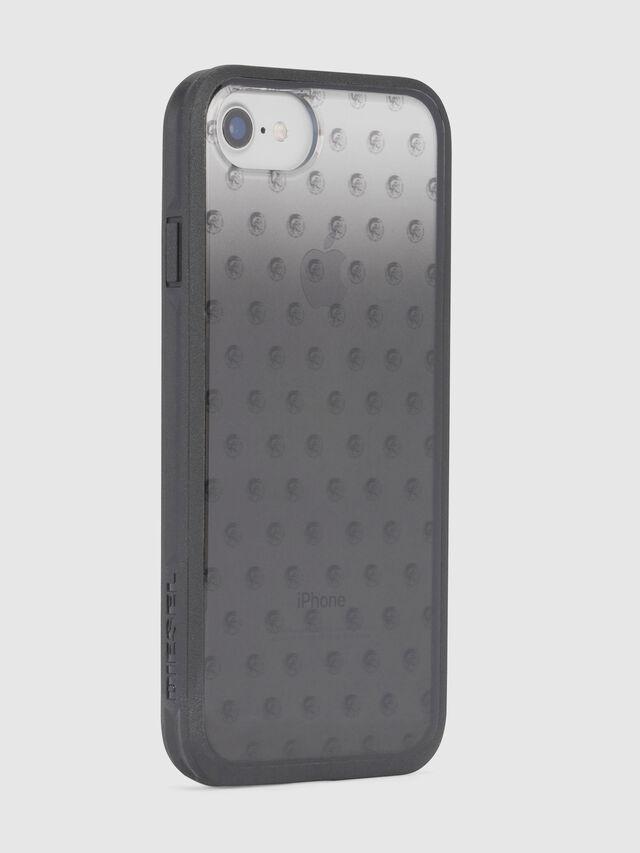 MOHICAN HEAD DOTS BLACK IPHONE 8 PLUS/7 PLUS/6s PLUS/6 PLUS CASE, Negro