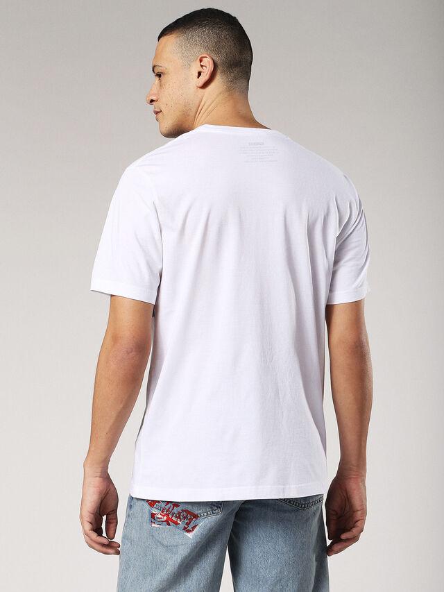 Diesel - T-JUST-SW, Blanco - Camisetas - Image 2
