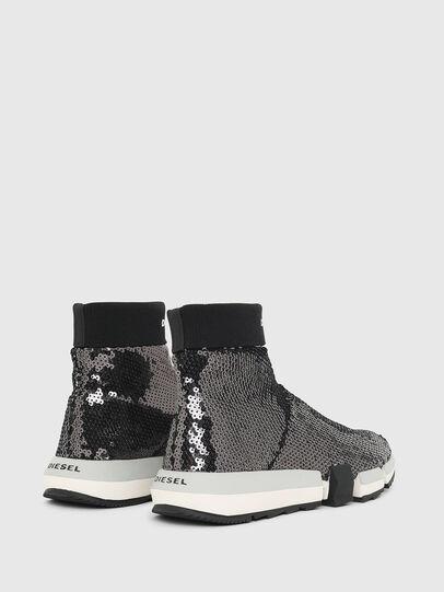 Diesel - H-PADOLA SOCK W, Negro - Sneakers - Image 3