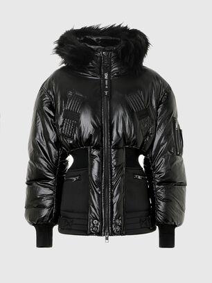 W-ISOKE-SHINY, Negro - Chaquetones de invierno