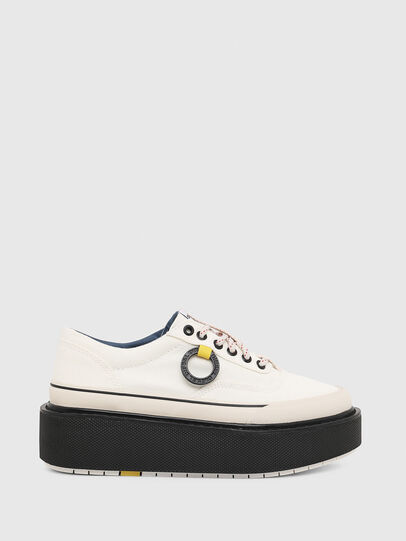 Diesel - H-SCIROCCO LOW, Blanco/Rosa - Sneakers - Image 1