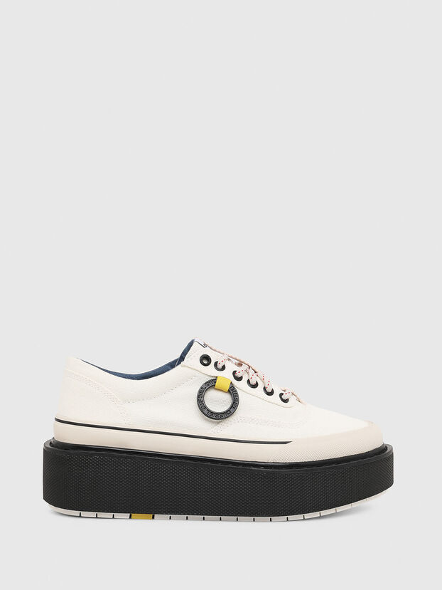 H-SCIROCCO LOW, Blanco/Rosa - Sneakers
