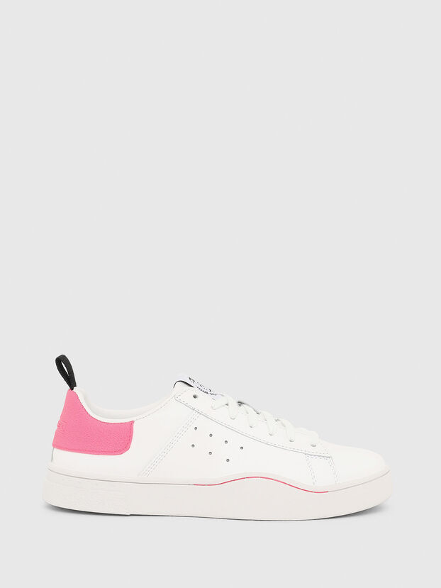 S-CLEVER LOW W, Blanco/Rosa - Sneakers
