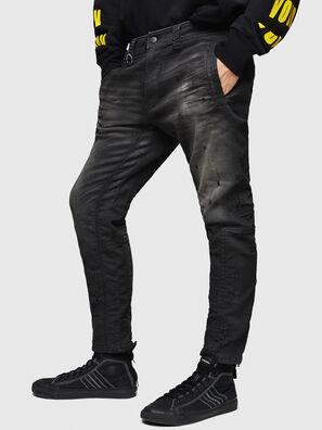 D-Earby JoggJeans 069GN, Negro/Gris oscuro - Vaqueros