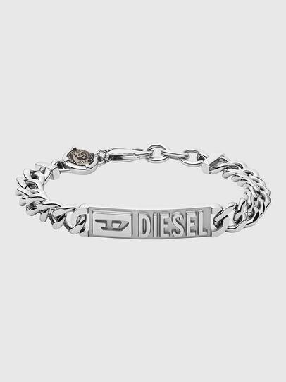 Diesel - DX1225, Plata - Pulseras - Image 1